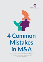 4 Common Mistakes in M&A