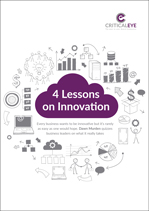 4 Lessons on Innovation