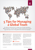 5 Tips for Managing a Global Team