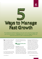 5 Ways to Manage Fast Growth