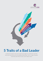 5 Traits of a Bad Leader