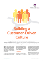Building a Customer-Driven Culture
