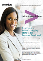 Women's Stepping Stone to the Corporate Boardroom?