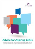 Advice for Aspiring CEOs