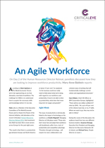 An Agile Workforce