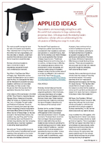 Applied Ideas: Why Business & Academia Can Drive Innovation