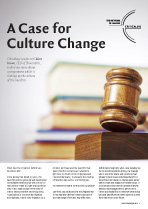 A Case for Culture Change
