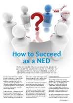 How to Succeed as a NED