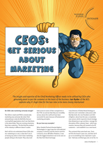 CEOs: Get Serious About Marketing