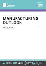 Manufacturing Outlook Q3 2016