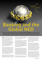 Banking and the Global NED