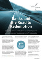 Banks and the Road to Redemption