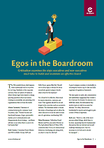 Egos in the Boardroom