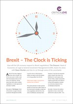 Brexit - The Clock is Ticking