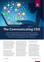 The Communicating CEO