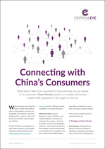 Connecting with China's Consumers