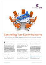 Controlling Your Equity Narrative