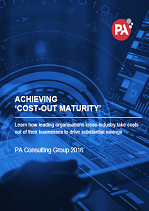 Achieving Cost-Out Maturity