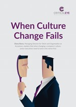 When Culture Change Fails