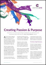 Creating Passion & Purpose