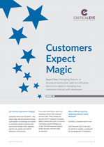 Customers Expect Magic
