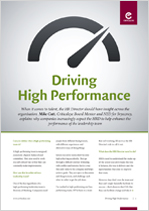 Driving High Performance - Mike Cutt