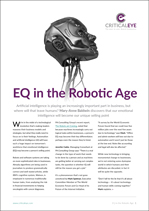 EQ in the Robotic Age