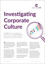 Investigating Corporate Culture