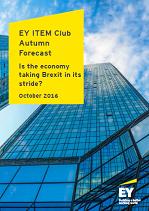 EY ITEM Club Autumn Forecast 2016