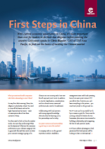 First Steps in China