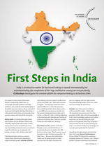 First Steps in India