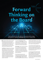 Forward Thinking on the Board