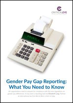 Gender Pay Gap Reporting: What You Need to Know