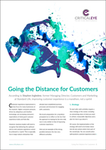 Going the Distance for Customers