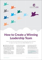 How to Create a Winning Leadership Team