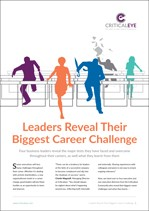 Leaders Reveal Their Biggest Career Challenge