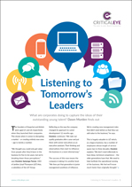 Listening to Tomorrow's Leaders