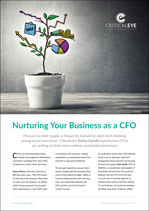 Nurturing Your Business as a CFO