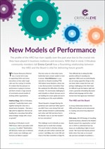 New Models of Performance