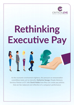 Rethinking Executive Pay