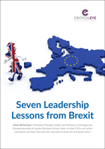 Seven Leadership Lessons from Brexit