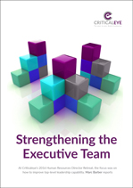 Strengthening the Executive Team