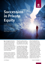 Succession in Private Equity