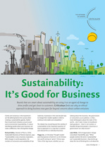Sustainability: It's Good for Business