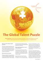 The Global Talent Puzzle