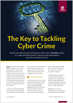 The Key to Tackling Cyber Crime