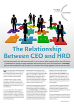 The Relationship Between CEO and HRD