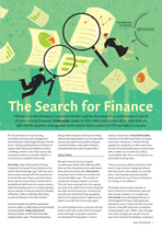 The Search for Finance