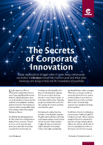 The Secrets of Corporate Innovation