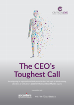 The CEO's Toughest Call